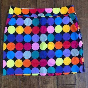 Disco Balls Loudmouth Golf Skort size 6